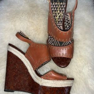 Size 7 Jessica Simpson wedges
